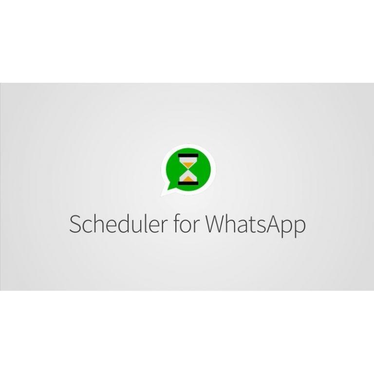 Así puedes programar mensajes de WhatsApp para que se manden solos
