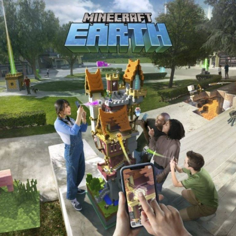 Anuncian Minecraft Earth, un nuevo juego de Realidad Aumentada al estilo de Pokémon GO