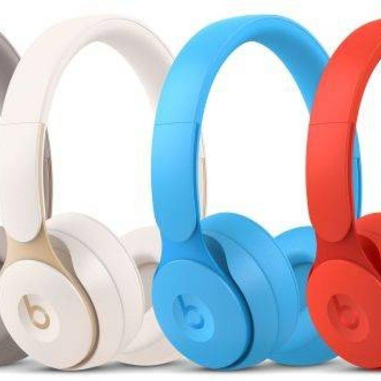 Apple lanza los Beats Solo Pro, sus primeros audífonos on-ear con cancelación de ruido activa