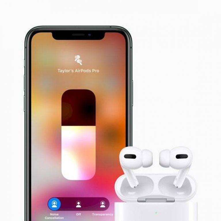 Apple anuncia oficialmente los AirPods Pro, con cancelación de ruido activa