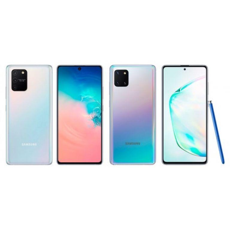 Samsung presenta en forma oficial nuevos Galaxy S10 Lite y Note 10 Lite
