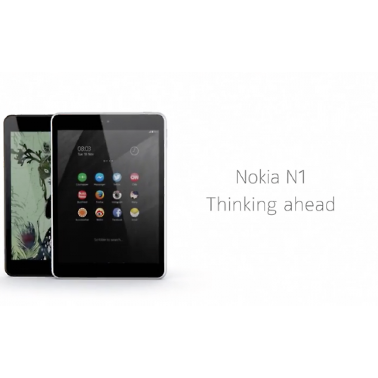Nokia N1, la primera tablet con Android 5.0