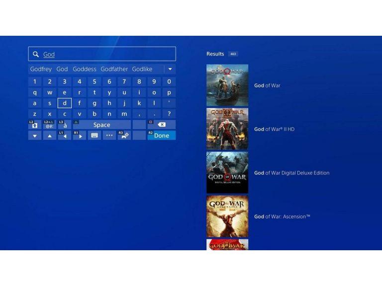 PlayStation 4: Sony ha mejorado la función de búsqueda en PlayStation Store