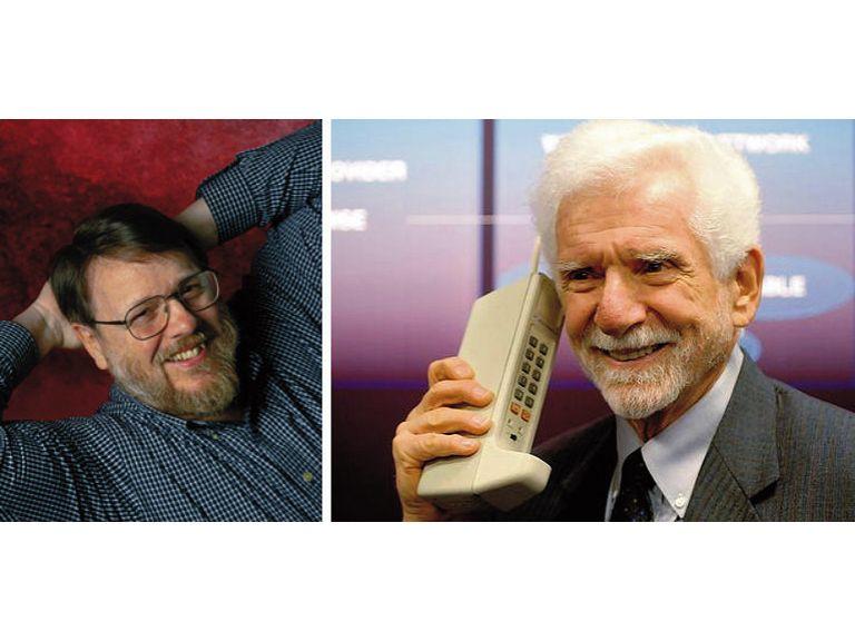 Cómo serán Internet y el teléfono móvil en el futuro, según sus ?padres? .