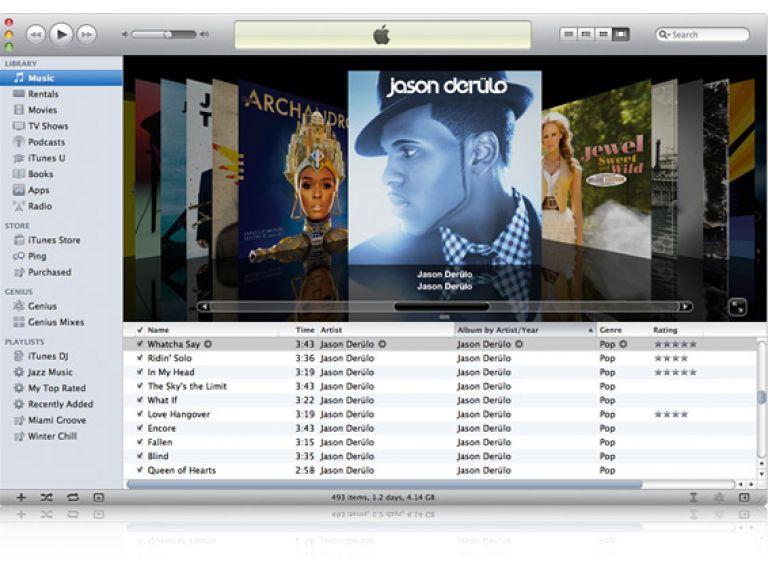 iTunes superó los 25.000 millones de canciones descargadas