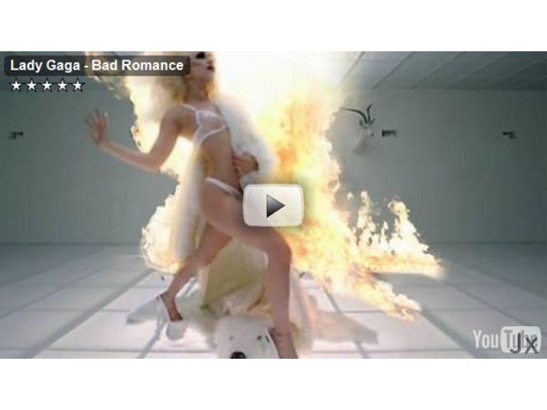 'Bad Romance' de Lady Gaga se convierte en el vídeo más visto de la historia de Youtube.