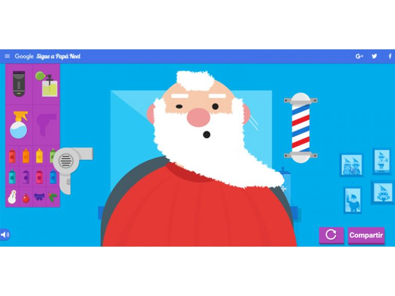 Ya está disponible el rastreador de Santa Claus de Google