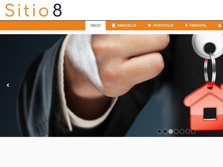 Demostración de sitio web para inmobiliaria demo 8. - DEMO 8 . Sitio web inmobiliaria