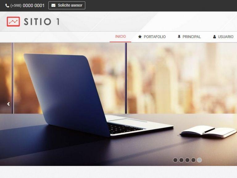 Diseño sitio web sitio institucional. - INSTITUCIONAL 1 . Diseño sitio web sitio institucional