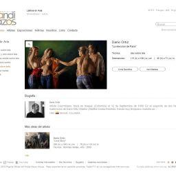 Diseño web minimalista y despojado. - Galería BandiTrazos