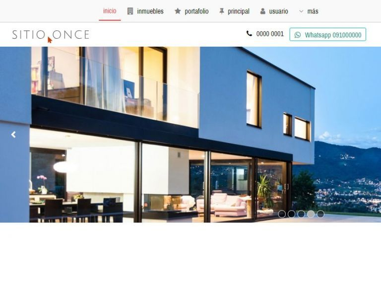 Template profesional para implementación para inmobiliaria online. - DEMO 11 . inmobiliaria online