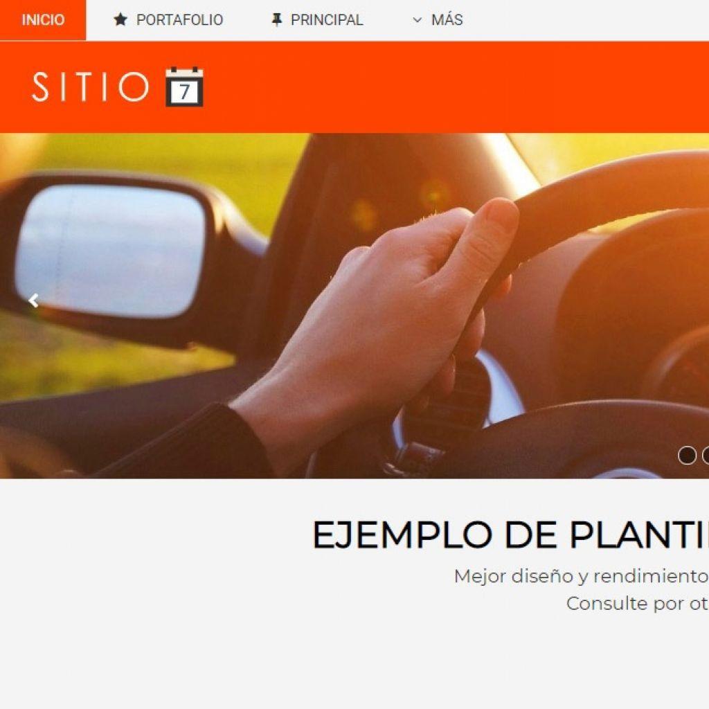 Demo 7 sitio web automotora.