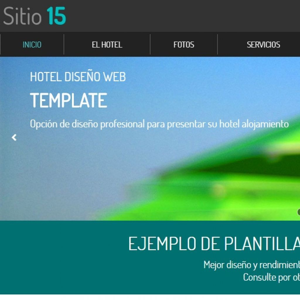Demo diseño sitio web hotel #15.