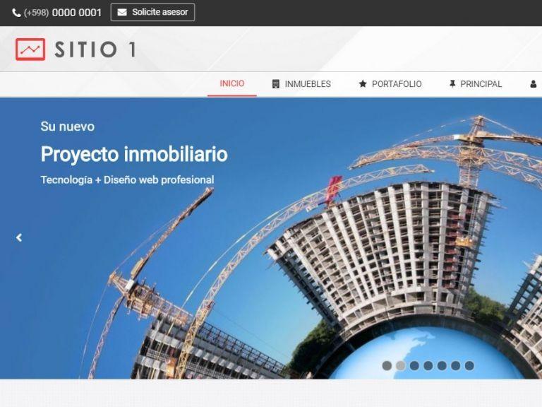 Plantilla profesional y tecnología recopilada para resultados online superiores. - DEMO 1 . Sitio web inmobiliario