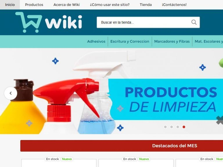 Wiki insumos de papelería. - Wiki